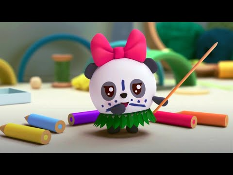 Малышарики - Новые серии - 🌴  ДЖУНГЛИ 🐒  (167 серия) Мультики 2020
