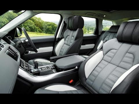 Range rover sport 2014 interior youtube for Interno velar