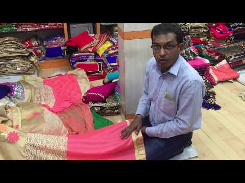 wholesaler of wedding and bridal saree supplier in delhi india