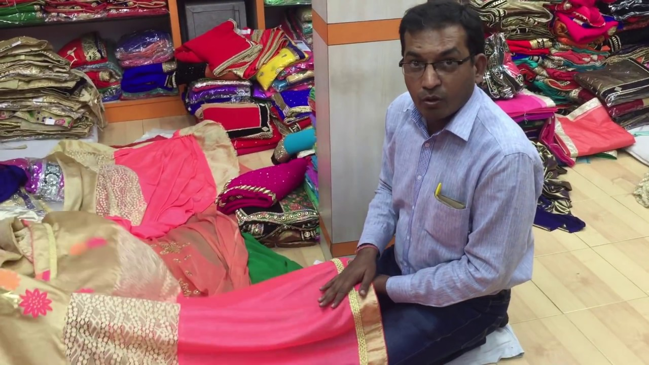 ffca90da5 wholesaler of wedding and bridal saree supplier in delhi india - YouTube