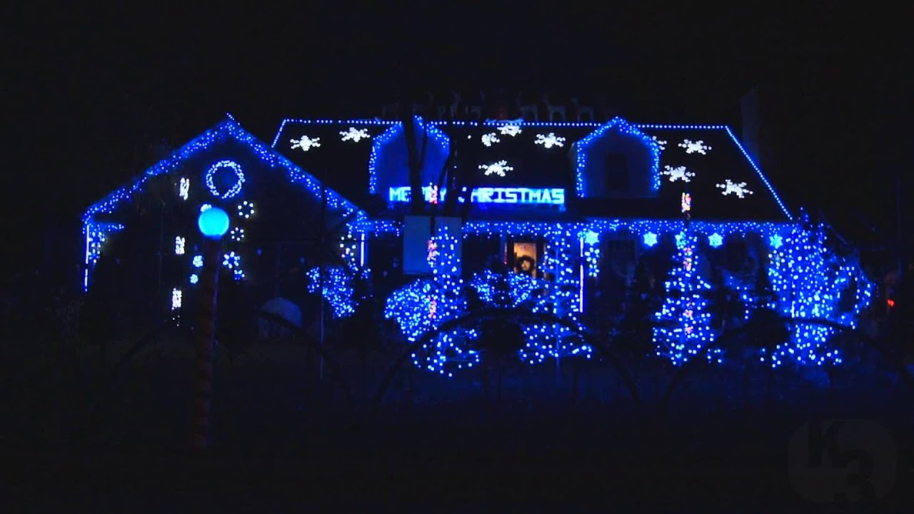 Faeries - Mannheim Steamroller Christmas Lights (Wilmette, IL) 2012 ...