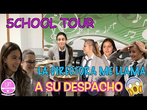 SCHOOL TOUR🏫ENSEÑO MI COLEGIO 👩🏻🏫Y LA DIRECTORA ME LLAMA A SU DESPACHO!! LA DIVERSION DE MARTINA