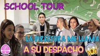 SCHOOL TOUR🏫ENSEÑO MI COLEGIO 👩🏻🏫Y LA DIRECTORA ME LLAMA A SU DESPACHO!! LA DIVERSION DE MARTINA thumbnail