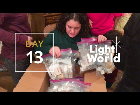 #LightTheWorld Day 13: Helping Those in Need – Mormon.org Christmas 2017