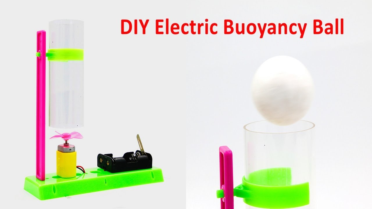 DIY Electric Buoyancy Ball Primary School Science Toys Educational STEM  Kits HTT0007
