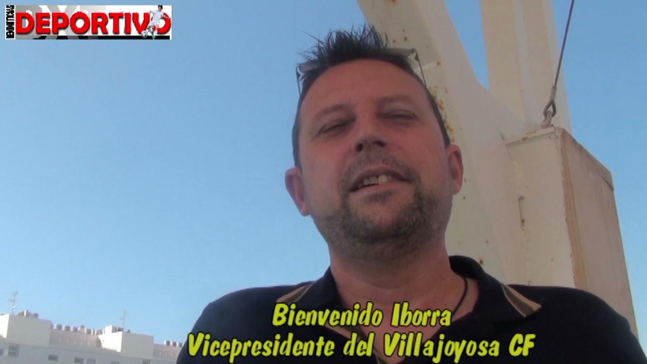 Vídeo entrevista con el Vicepresidente del Villajoyosa Bienvenido Iborra