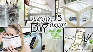 Download 5 DIY Room Decor and Desk Organization Ideas - Art Deco Style Mp3 and Videos