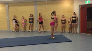 A flipping good time - Acro Gymnastics Video