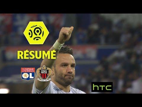 Olympique Lyonnais - OGC Nice (3-3)  - Résumé - (OL - OGCN) / 2016-17