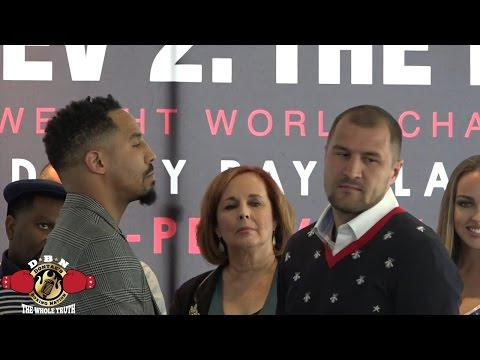 (SERIOUS BUSINESS!) ANDRE WARD AND SERGEY KOVALEV FACE OFF FOR THE NO EXCUSES REMATCH