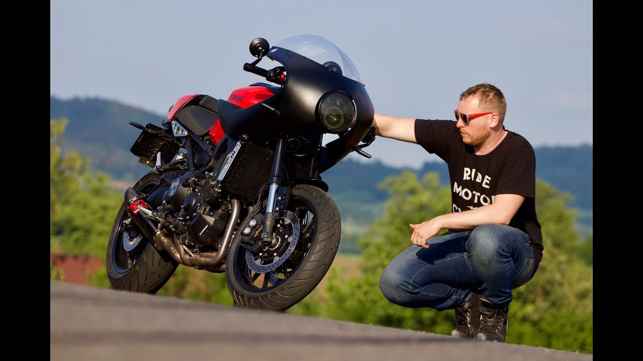 Check This Yamaha XSR 900 Cafe Racer
