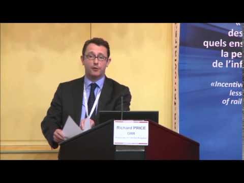 Richard Price (ORR) presentation during ARAF economic conference in Paris, May 26 2014