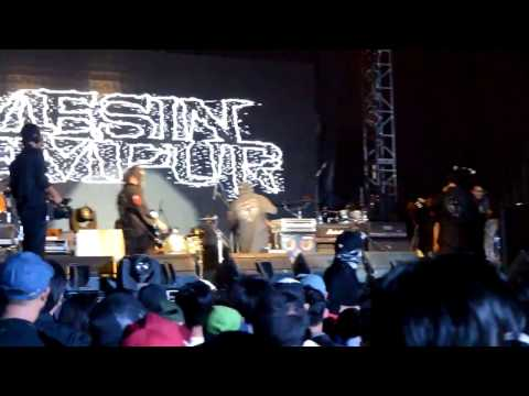 Mesin Tempur Live At Kickfest 2016 November 6th