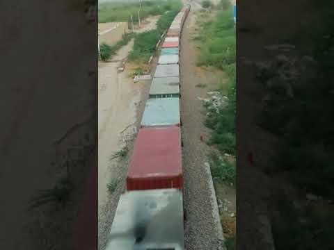 Goods train arriving in lalgarh (Bikaner) // RAIL TIME