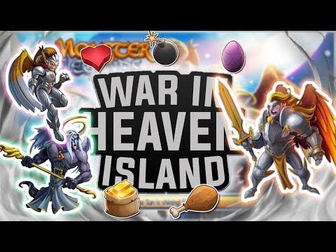 Monster Legends | War in Heaven Progressive Island | Tutorial