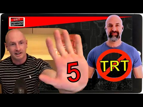 5 Reasons NOT To Go On TRT (Testosterone Replacement Therapy) Dangers Of TRT Therapy