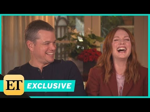 Matt Damon Says He 'Roughed Himself Up' During Sex  With Julianne Moore Exclusive