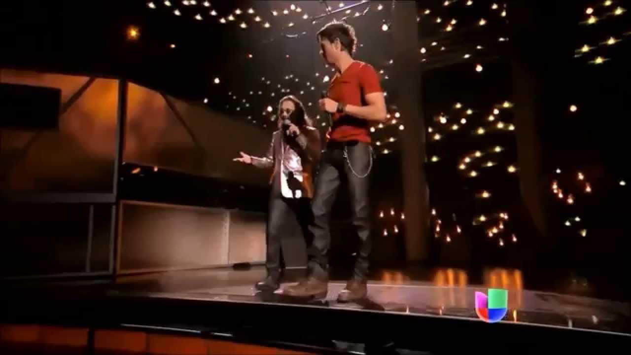 Enrique Iglesias y Pitbull en Premio Lo Nuestro 2014 HD ...