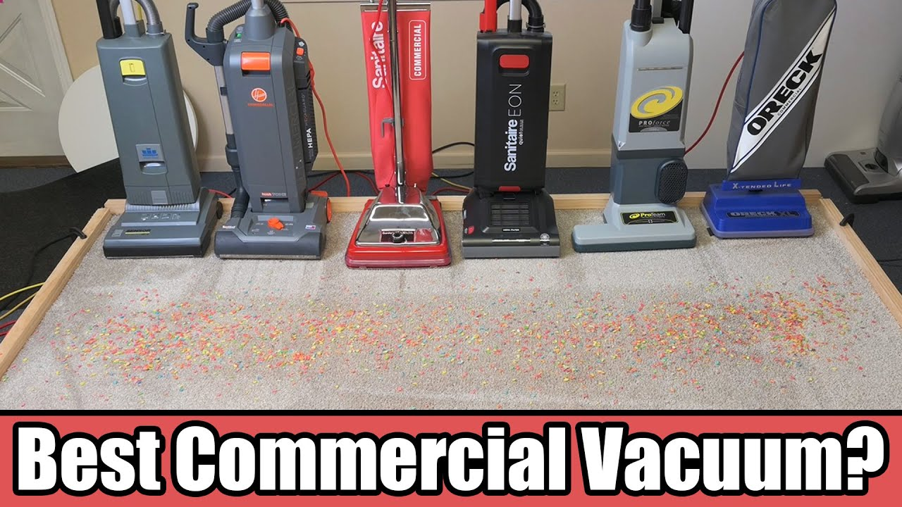 Commercial Vacuum Cleaner Compeion