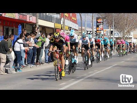 VÍDEO: Lucena recibe el miércoles a la Vuelta Ciclista a Andalucía con una meta volante.