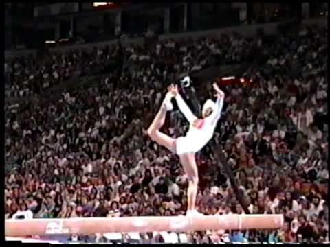 Jennie Thompson  - Balance Beam - 1996 Olympic Trials