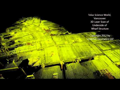 3D Laser Scanning Video - Marine Surveying - Science World Vancouver