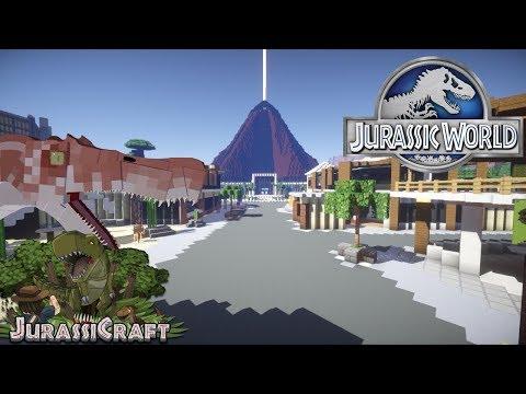 Minecraft Jurassic World Map Showcase!!