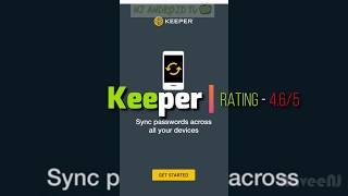 Keeper - Best Password Manager Apps [Android/iOS] #02