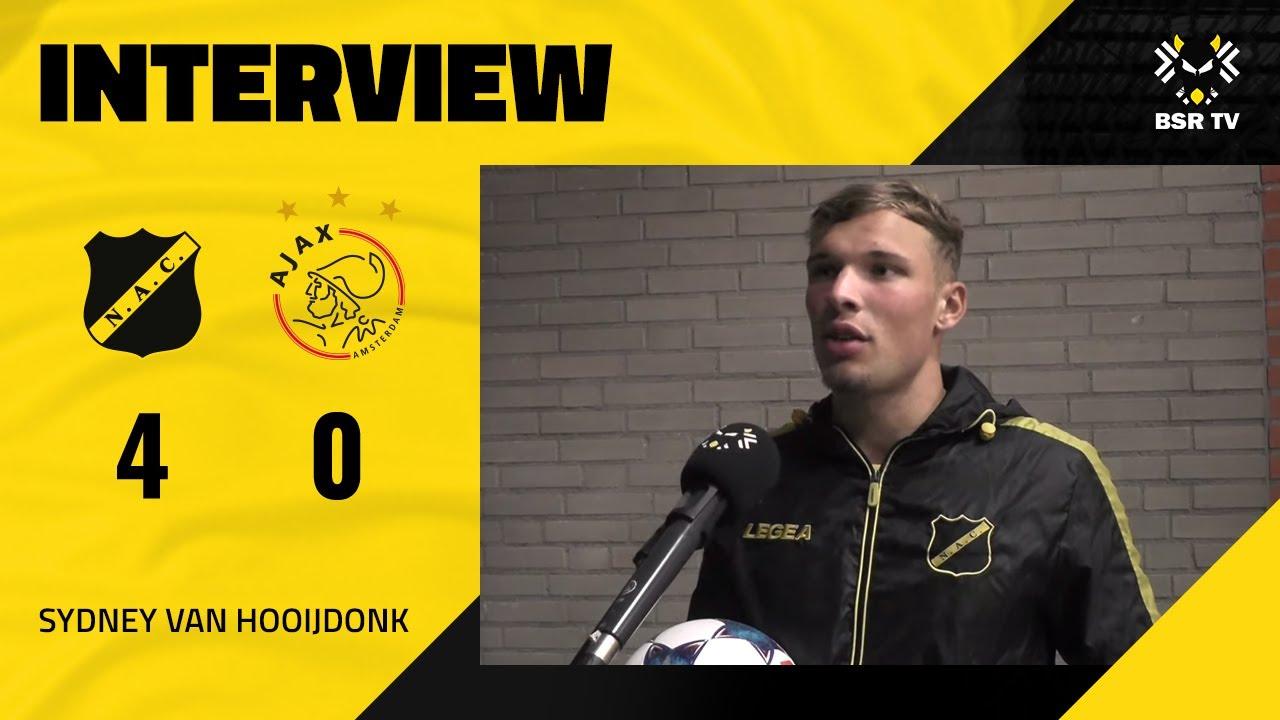 BSR TV: Sydney van Hooijdonk na NAC - Jong Ajax (4-0)