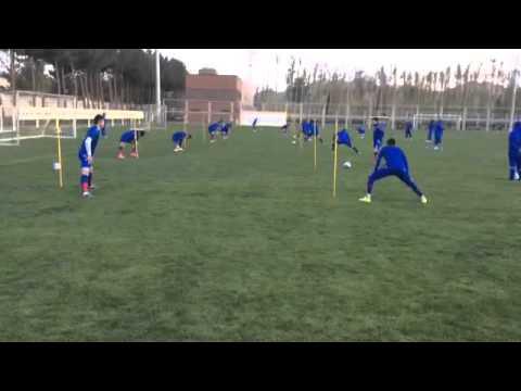Fc Bunyodkor training in Esfahan