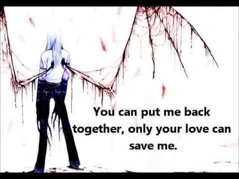 ♥Nightcore- Save Me [LYRICS] (My Darkest Days)