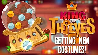 King of Thieves: Getting New Costumes