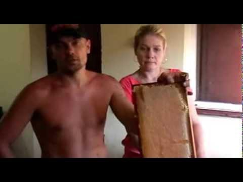 отбор рамок для откачки меда из лежака