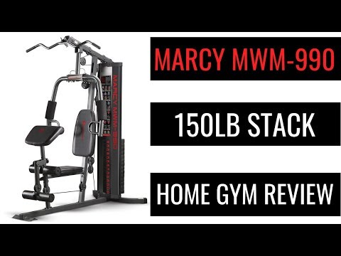 MARCY MWM 990 150lb Review | Home Gym Workout Equipment