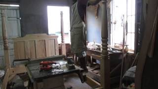 Past And Present Woodwork™ Building A Four Poster Bed
