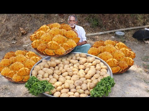 Potato poori | Masala Aloo Puri Recipe | How to make Kids Special Potato poori Grandpa Kitchen
