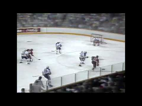 1987 Playoffs: Det @ Edm - Game 1 Recap