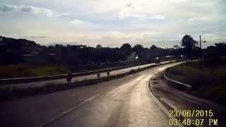 M.Brito - Treinamento para Habilitados - Aula em trechos de rodovia com a Habilitada - Zilda thumbnail