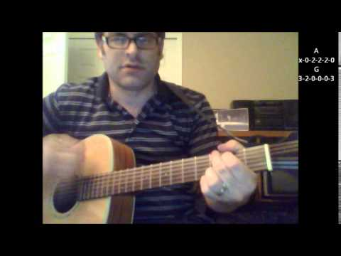 How to play In Your Eyes by Peter Gabriel covered by Jeffery Gaines on acoustic guitar