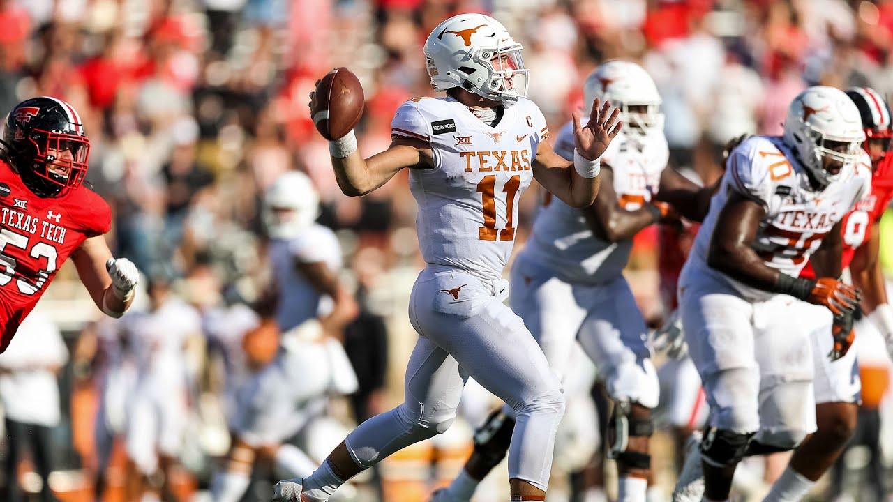 Texas Vs Texas Tech Football Highlights Youtube