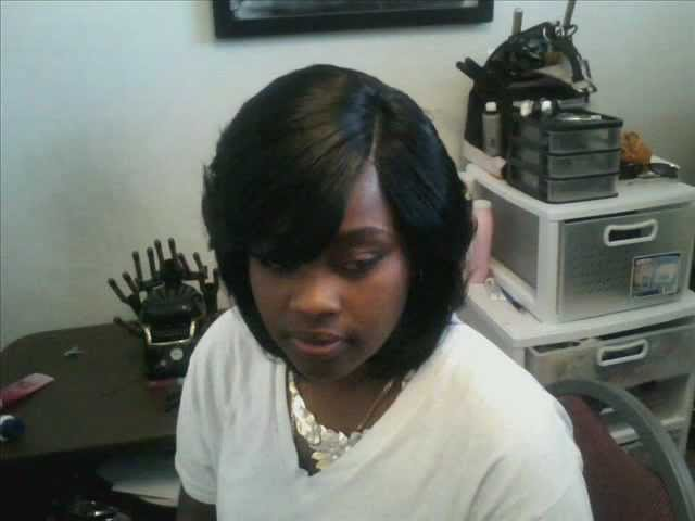 Duby Hair Weave Styles: Invisible Part Feathered Duby Wrap (Morning Glory GPS