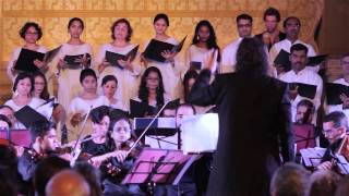 Excerpt from Ketevan Festival - INDIA: Bombay Chamber Orchestra & The Goa University Choir - INDIA