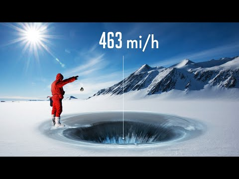 What Happens If You Throw A Stone Into A Superdeep Hole In Antarctica?