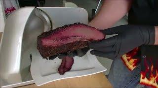 Wagyu Beef Brisket Auf Der Weber Smokey Mountain Cooker 57cm (wsm)