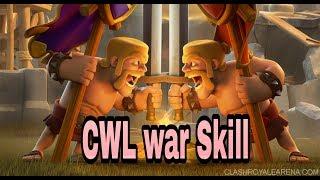 Skills like CWL clan war