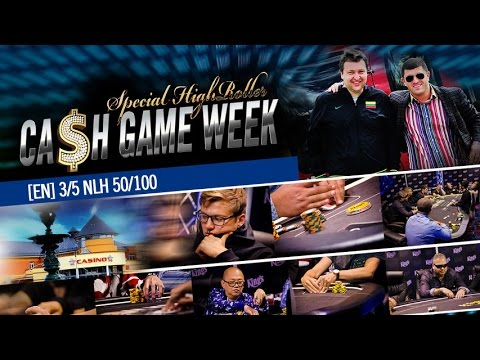[EN] 3/5 Special High Roller CASH KINGS NLH 50/100