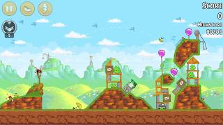 Angry Birds levels 24-10 to 24-12 : Red