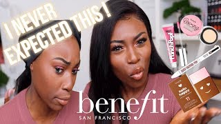 SO THIS WAS UNEXPECTED!  I ACTUALLY TRIED A FULL FACE OF BENEFIT...WHO KNEW!