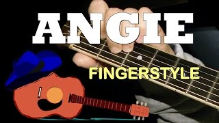 """Video """"ANGIE"""" by The Rolling Stones: Fingerstyle Guitar Cover + TAB by GuitarNick download MP3, 3GP, MP4, WEBM, AVI, FLV Mei 2018"""