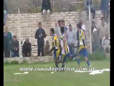 Gol de Francisco Peguenche At  Chimpay 1 Villa Unión 2